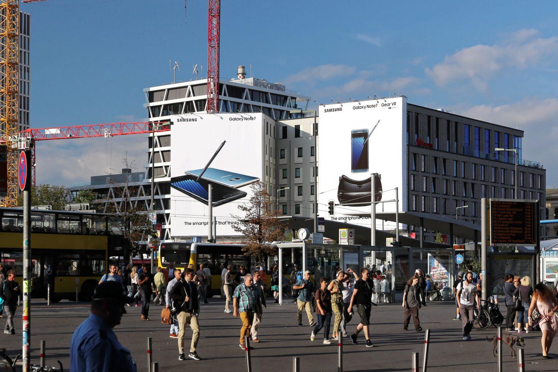 Limes Vertriebsgesellschaft Riesenposter von Samsung in 09/2016
