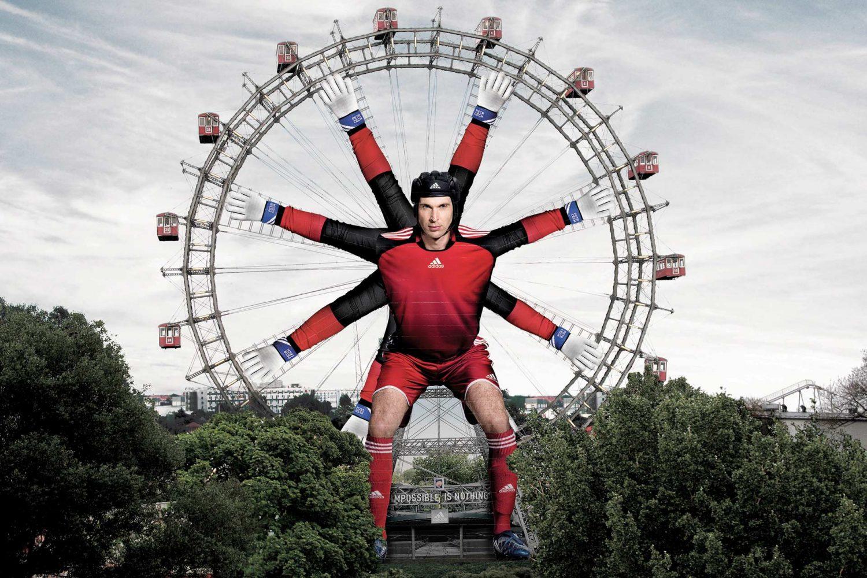 Limes Vertriebsgesellschaft Sonderumsetzung The Impossible Goalkeeper im Wiener Prater 2008